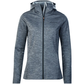 Berghaus Kamloops Giacca in pile con cappuccio Donna, carbon marl